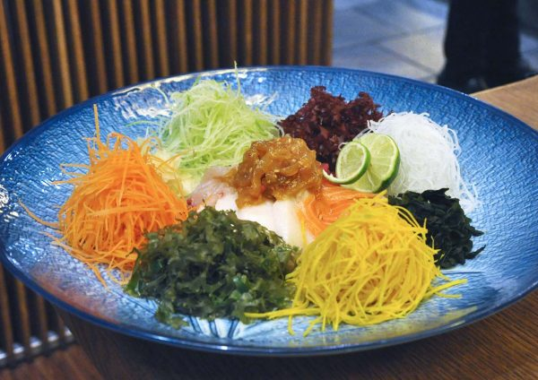 xenri japanese cuisine old klang road cny premium sashimi yee sang