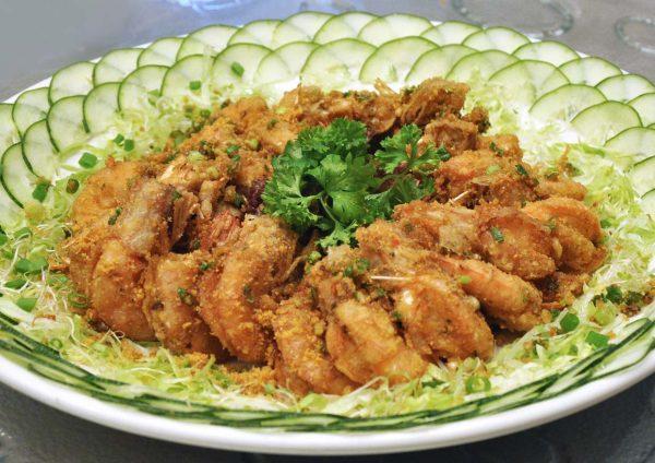 zuan yuan chinese restaurant one world hotel cny 2017 prawn