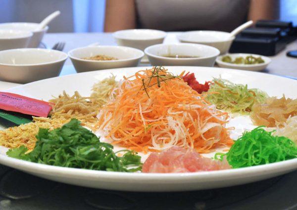 zuan yuan chinese restaurant one world hotel cny 2017 yee sang