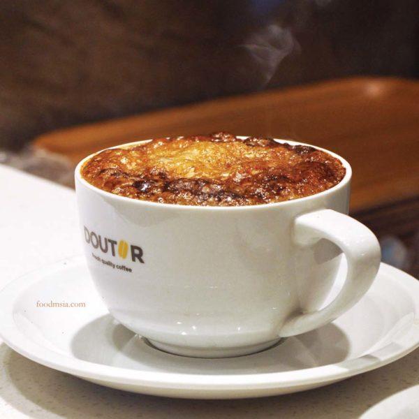 doutor malaysia japanese cafe sunway velocity kuala lumpur creme brulee latte