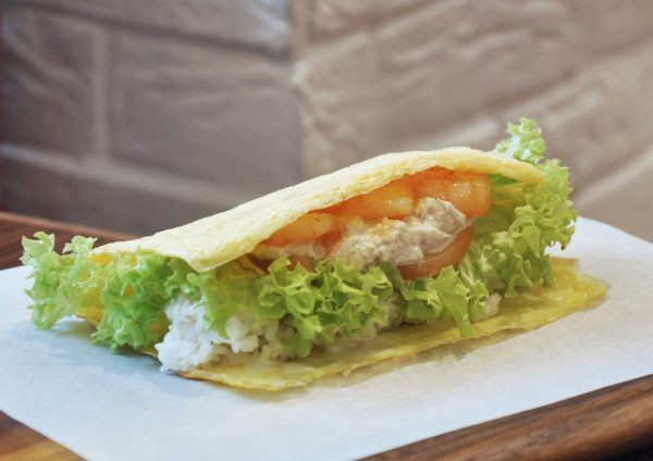 doutor malaysia japanese cafe sunway velocity kuala lumpur shrimp tuna omu wrap