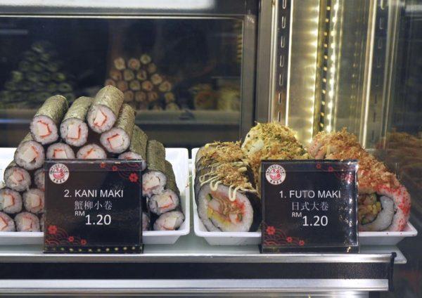 empire sushi japanese kiosk avenue k kuala lumpur maki