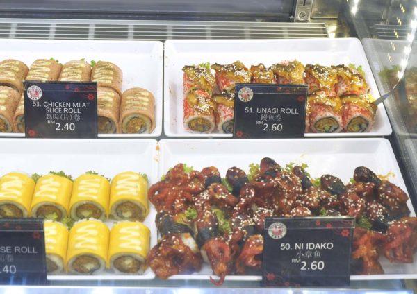 empire sushi japanese kiosk avenue k kuala lumpur roll