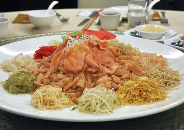 grand harbour cantonese cuisine chinese new year yee sang