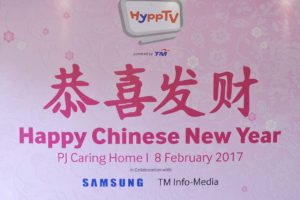HyppTV Spreads Joyful Chinese New Year To PJ Caring Home