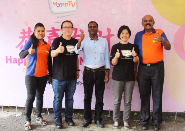 hypptv chinese new year csr pj caring home group photo