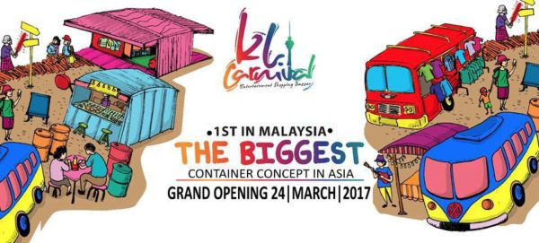 kl carnival bukit jalil container market