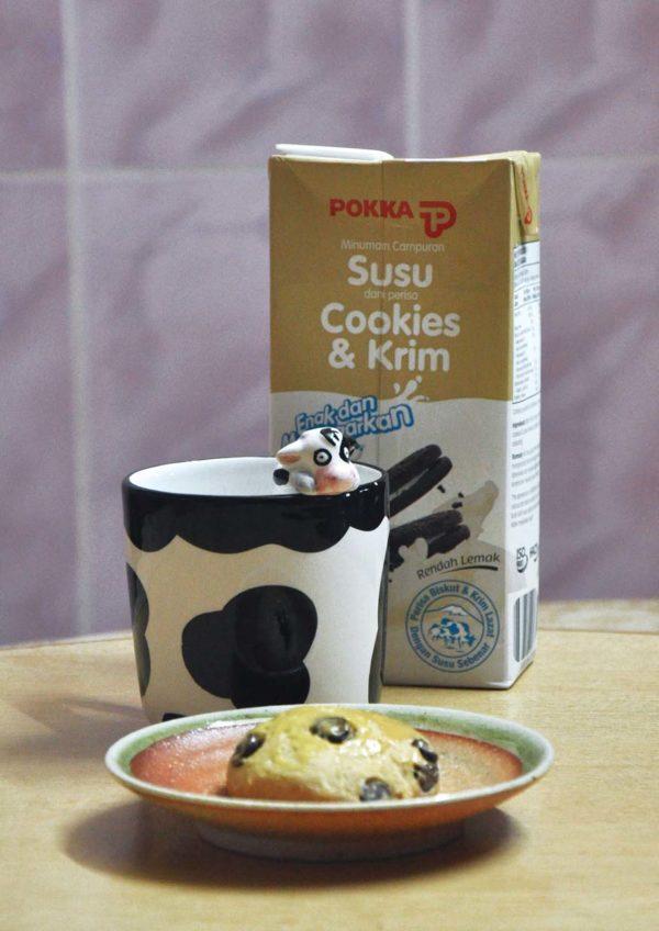pokka cookies and cream flavoured milk scone recipe