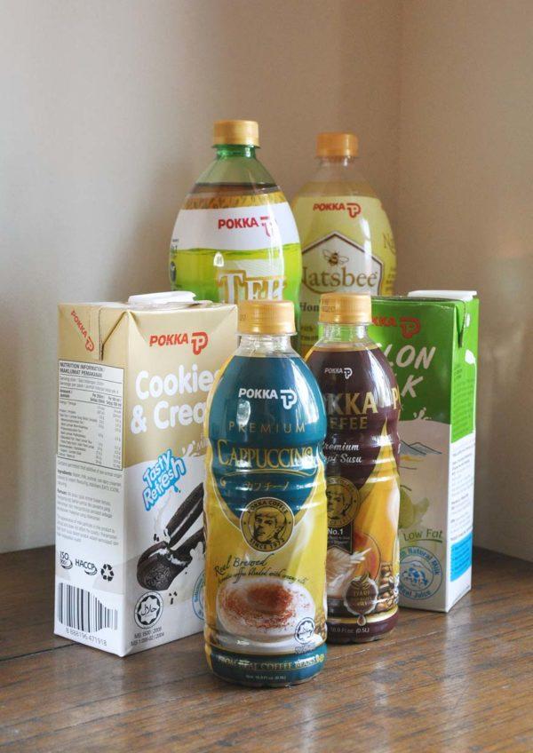pokka drink series