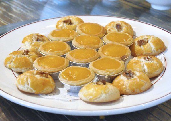 rakuxin restaurant concorde hotel shah alam cny dessert
