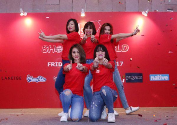 11street shop the world international online shopping event dance