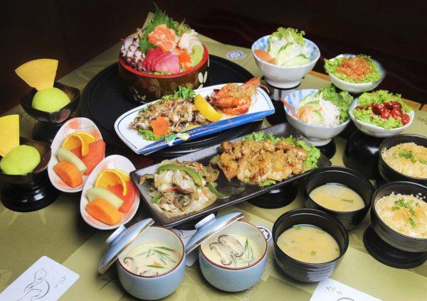 agehan japanese restaurant set menu grand bluewave hotel shah alam sashimi gozen