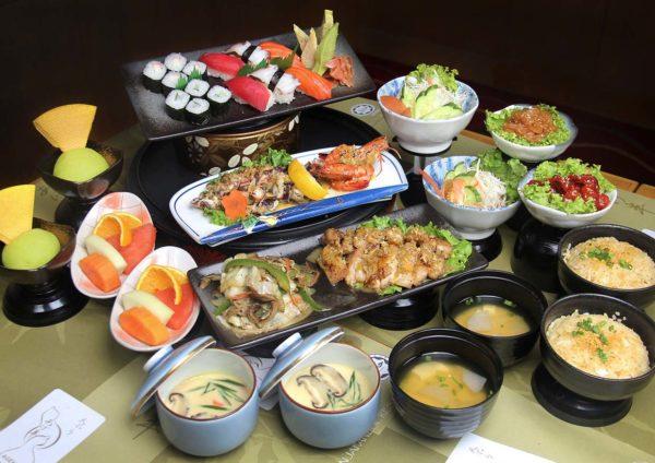 agehan japanese restaurant set menu grand bluewave hotel shah alam sushi gozen