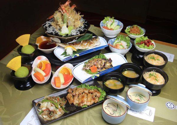 agehan japanese restaurant set menu grand bluewave hotel shah alam tempura gozen