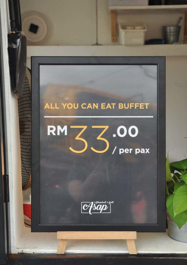 asap all-you-can-eat steamboat grill buffet puchong pricing