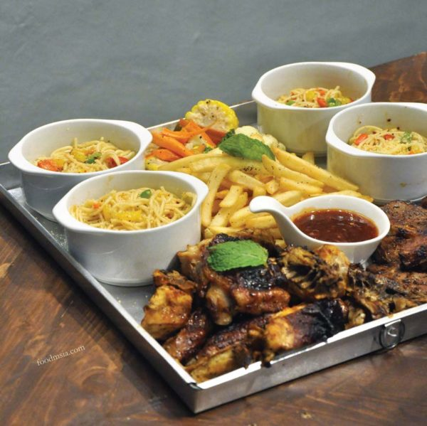 brew and stone kota damansara meat platter