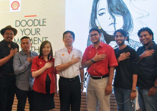 doodle your moment shell malaysia launching