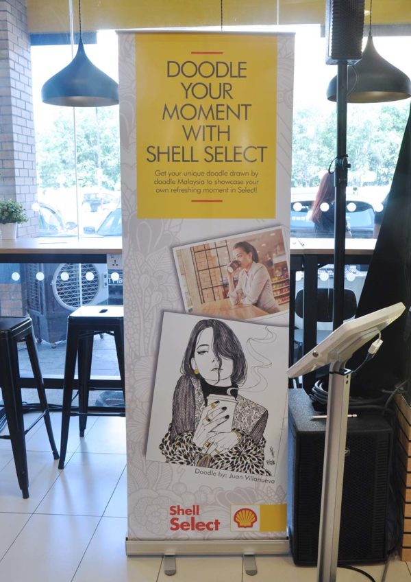 doodle your moment shell malaysia select store