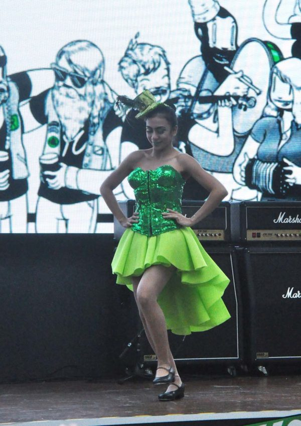 guinness st. patrick's weekend the square publika mall kuala lumpur dance performance