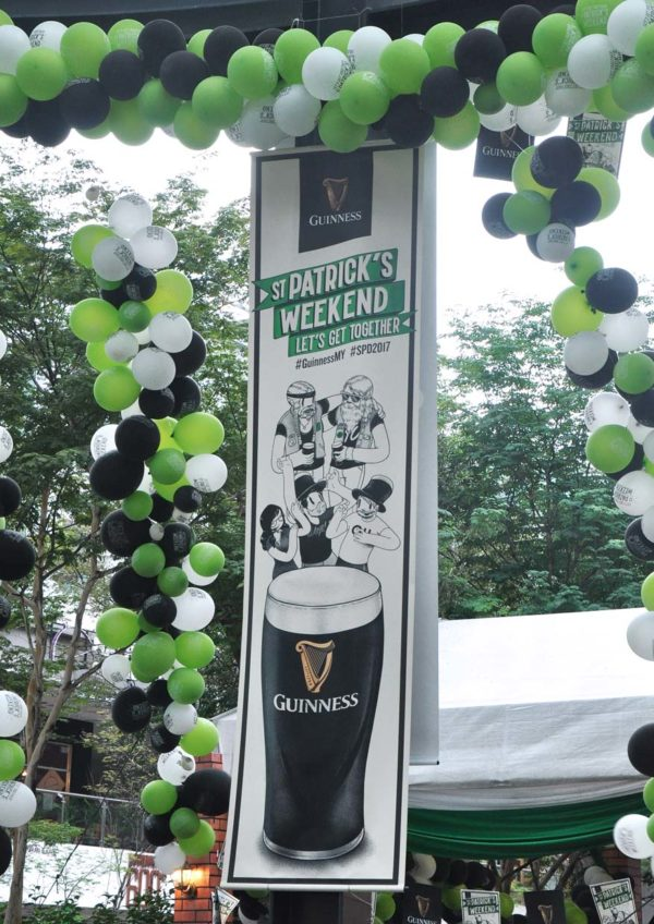 guinness st. patrick's weekend the square publika mall kuala lumpur spd2017