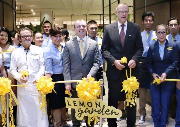 lemon garden shangri-la hotel kuala lumpur ribbon cutting