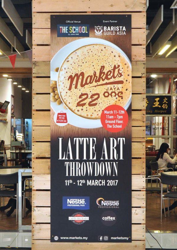 Coffee Appreciation #Markets22 BARISTA @ The School by Jaya One, Petaling Jaya