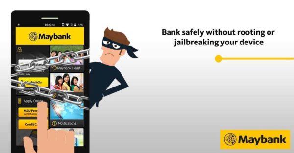 new maybank app mobile banking jailbroken