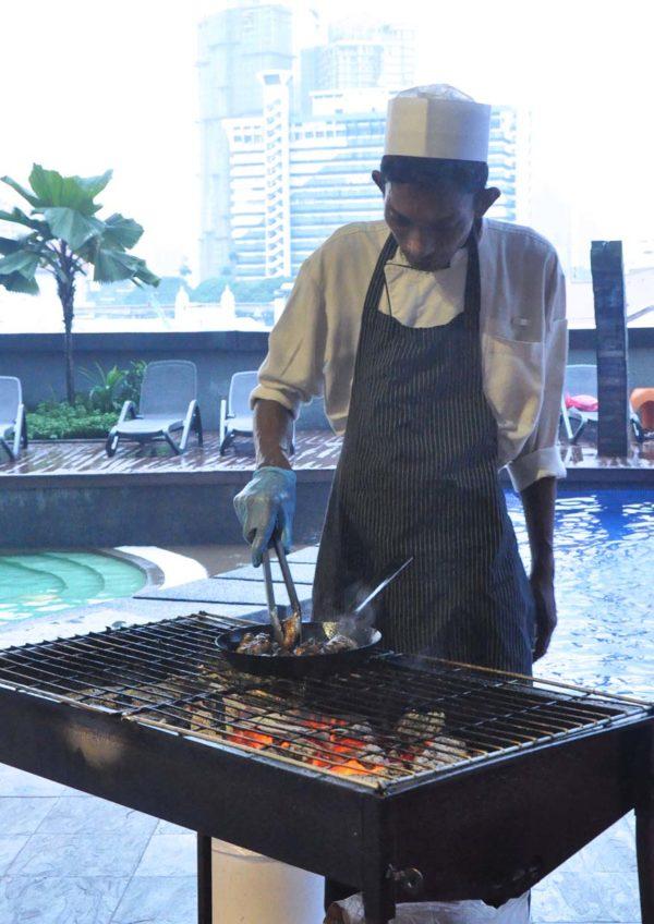 spices furama bukit bintang kuala lumpur barbecue buffet dinner chef