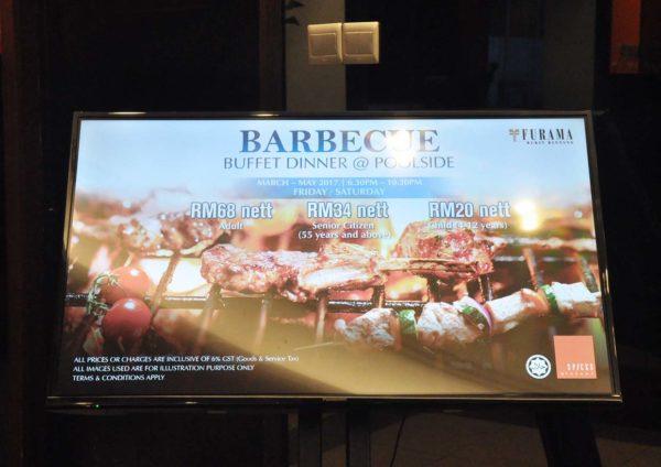 spices furama bukit bintang kuala lumpur barbecue buffet dinner promo