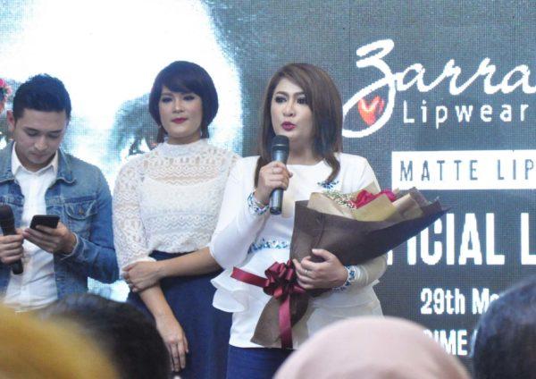 zarrabjoy cosmetics matte lipstick datin zamzarina zambri