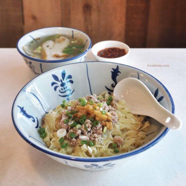 bai wei cuisine chinese restaurant desa sri hartamas mee pok