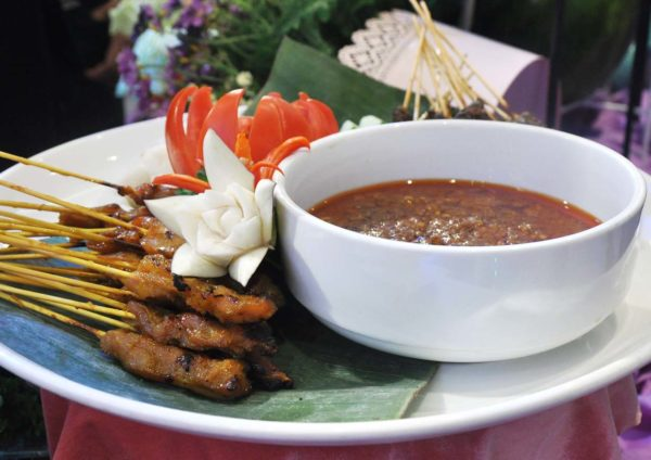 bangi golf resort ramadan buffet satay