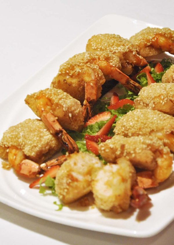 dynasty chinese pork free restaurant renaissance kl hotel prawn sesame