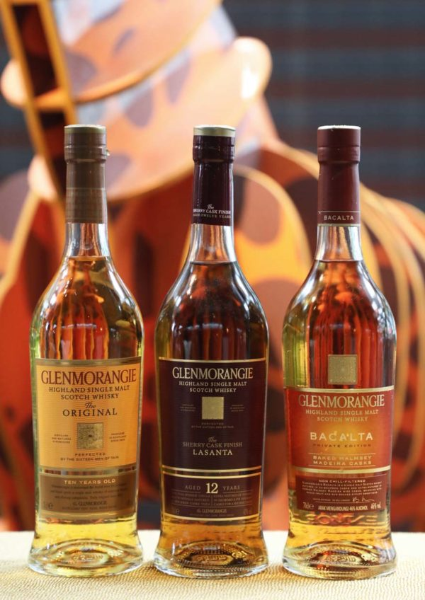 glenmorangie bacalta private edition single malt scotch whisky range