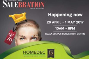 4-day HOMEDEC SALEBRATION @ Kuala Lumpur Convention Centre