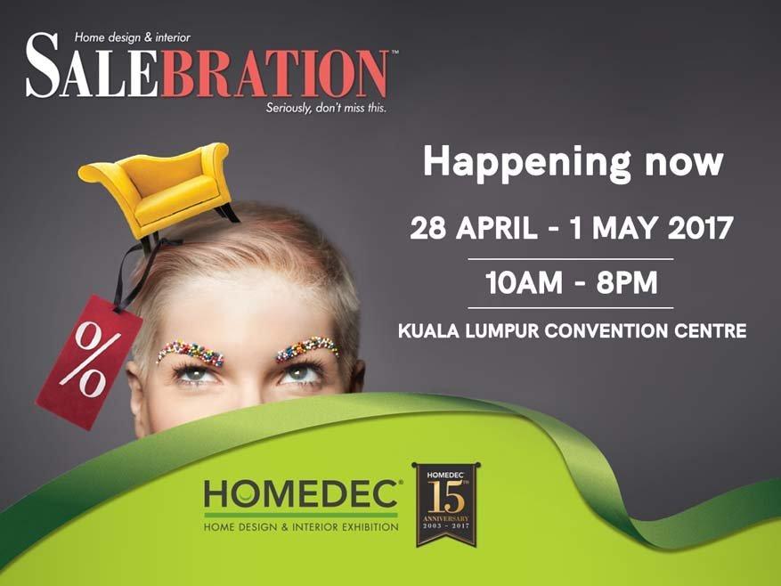 4-day HOMEDEC SALEBRATION @ Kuala Lumpur Convention Centre