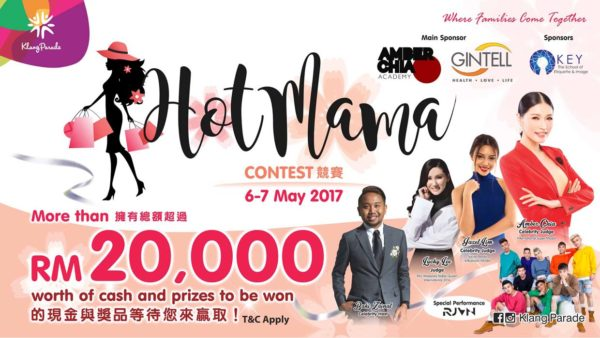 hot mama contest klang parade promotion