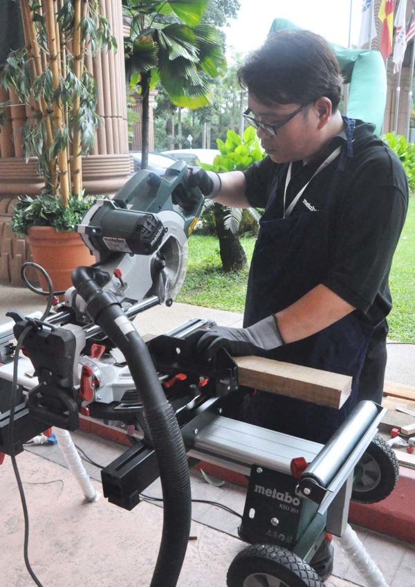 jasa kita metabo german tool mitre saw