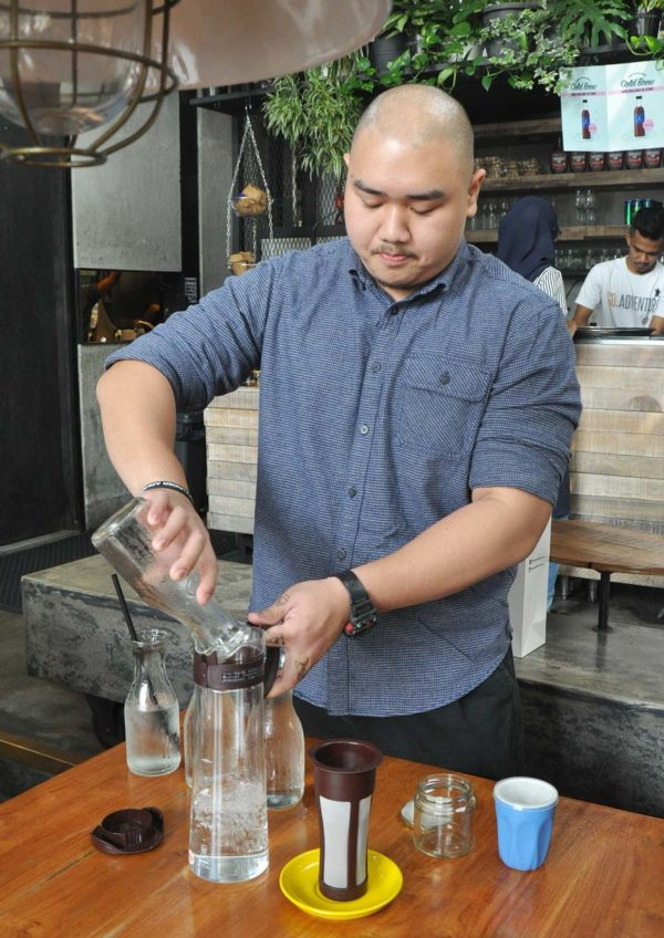 jibby cold brew coffee aaron phua barista
