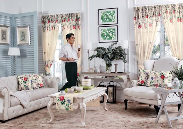 lilia rosa avon home raya decor collection dato rizalman ibrahim living room
