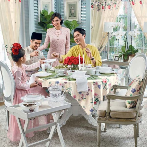 lilia rosa avon home raya decor collection dato rizalman ibrahim dining table