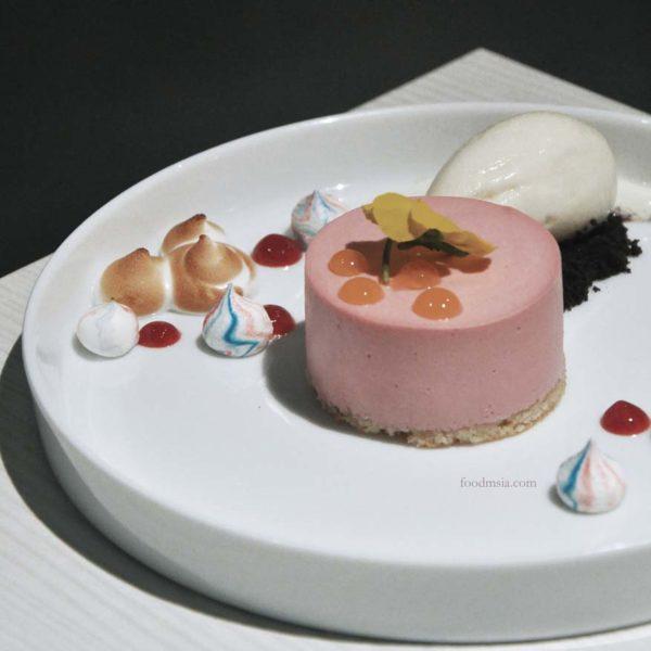 marco creative cuisine 1 utama shopping centre raspberry decadence
