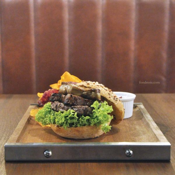 the daily grind ampang entertainer app malaysia beef burger