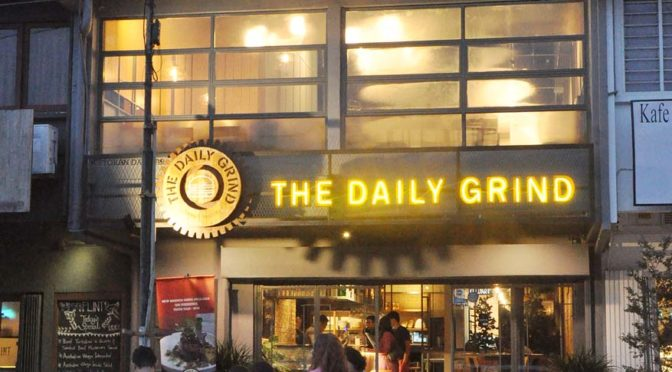 Buy 1 Free 1 @ The Daily Grind Gourmet Burgers with The ENTERTAINER App