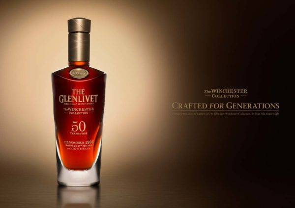 the glenlivet winchester collection vintage 1966 bottle
