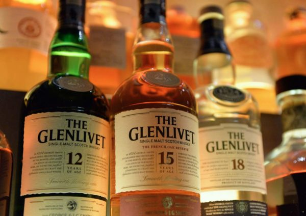 the glenlivet winchester collection vintage 1966 range