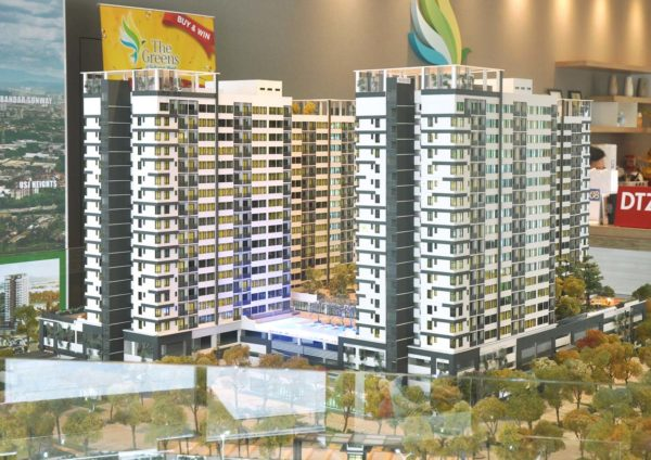 the greens subang west freehold residential condominium sales gallery