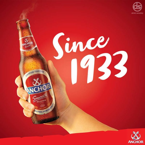 anchor real beer for real moments since 1933