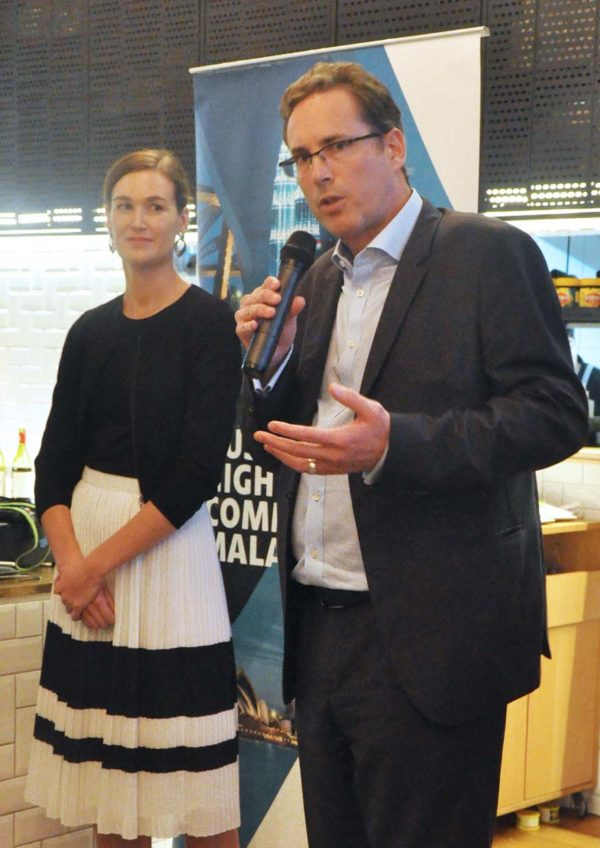 australian food trail launching event