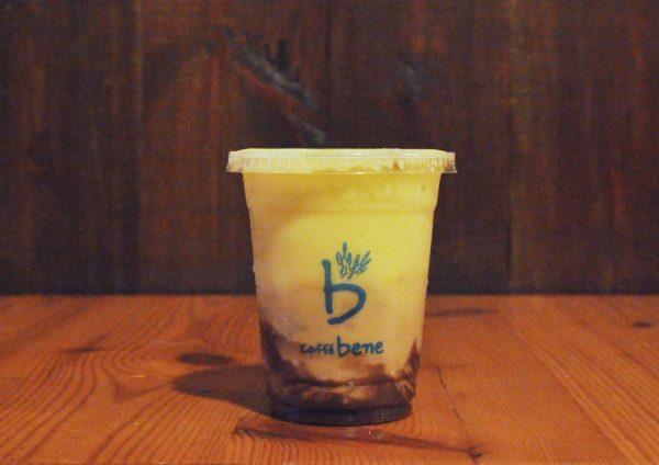 caffe bene mangotella smoothie